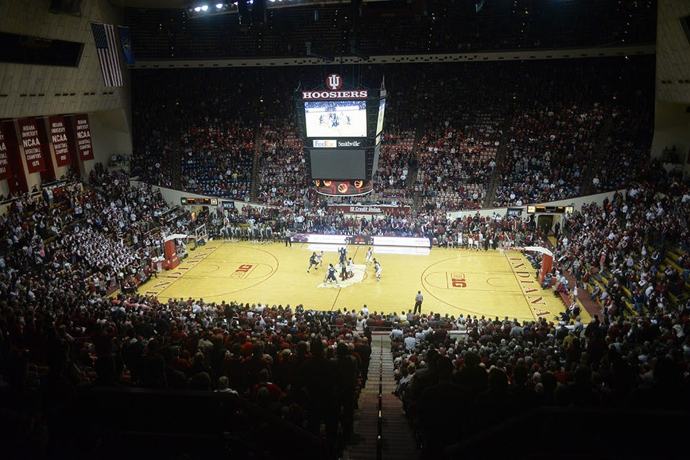 IU defeated Penn State 76-73 at Assembly Hall Tuesday night.