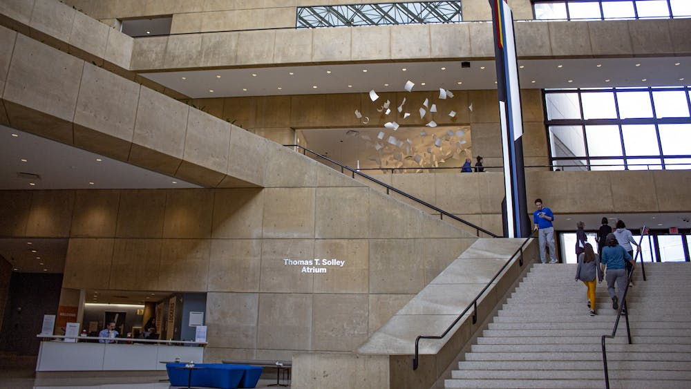 The inside of the Eskenazi Museum of Art is seen Dec. 6. The Campus Art Collection features several smaller collections found at different locations such as the Sidney and Lois Eskenazi Museum of Art, the Indiana Memorial Union, the Mathers Museum of World Cultures and the Hoagy Carmichael Room.