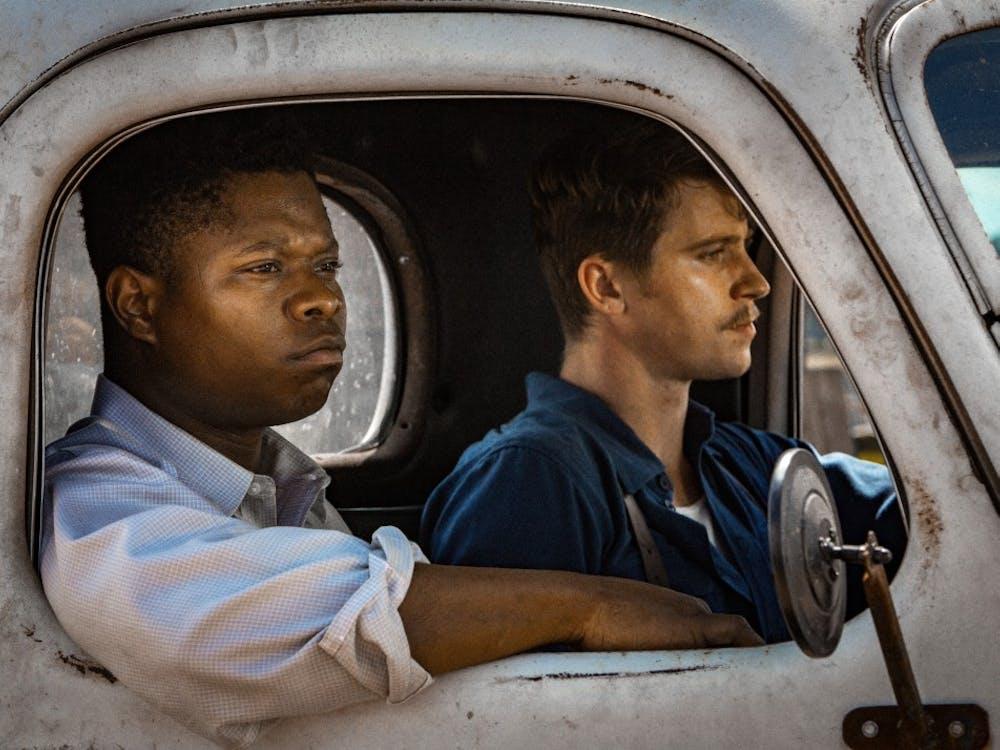 "Jason Mitchell and Garrett Hedlund star in Netflix's 2017 film ""Mudbound."" The period drama follows two World War II veterans dealing with post-traumatic stress disorder."