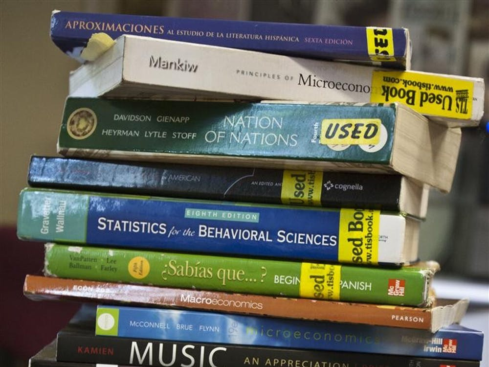 Students can purchase textbooks at a variety of locations, including online.