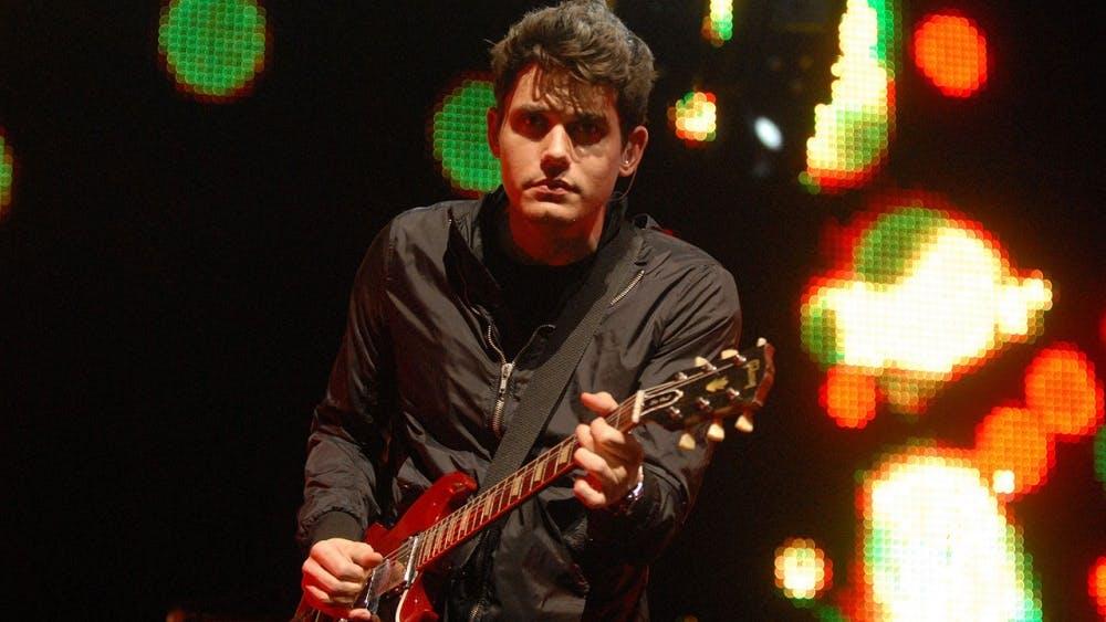 John Mayer performs at the Wachovia Center in Philadelphia, Pa., Feb. 21, 2010. (Bob Williams/Philadelphia Inquirer/MCT)