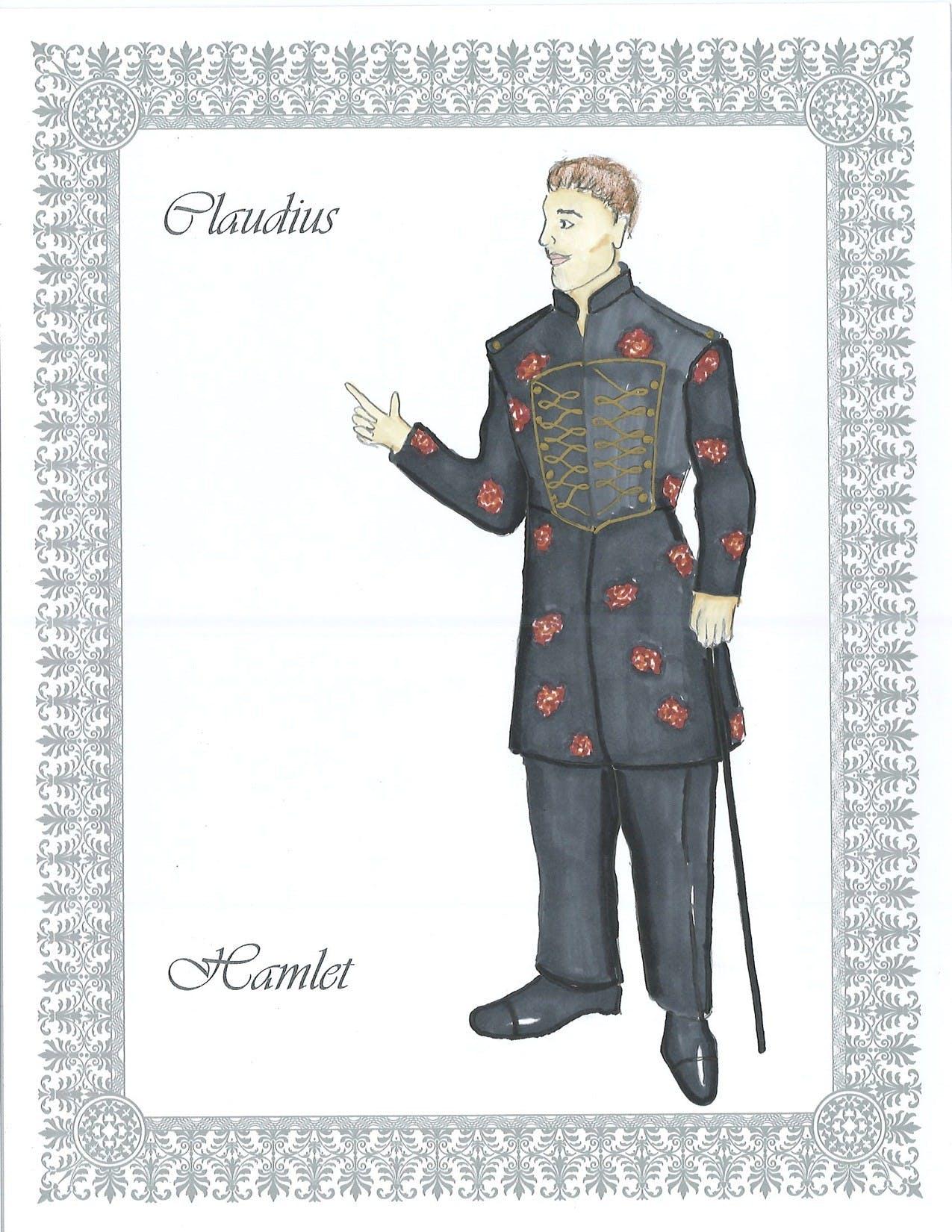Claudius costume design