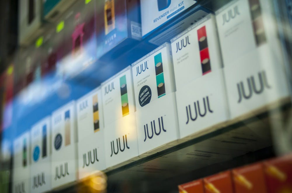 These flavors of Juul pods won't be sold at stores following