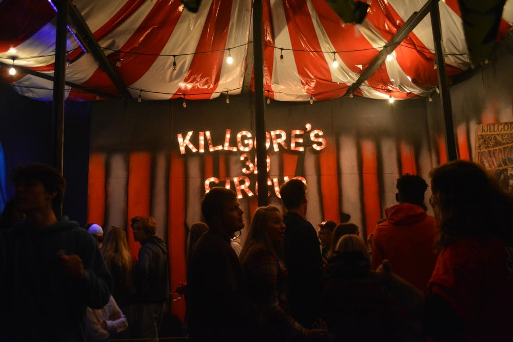 <p>Indy Scream Park, shown above in 2019, is open for the Halloween season, with new safety precautions in place to slow the spread of COVID-19.</p><p>Editors note: this photo caption has been updated to clarify when the photo was taken.</p>