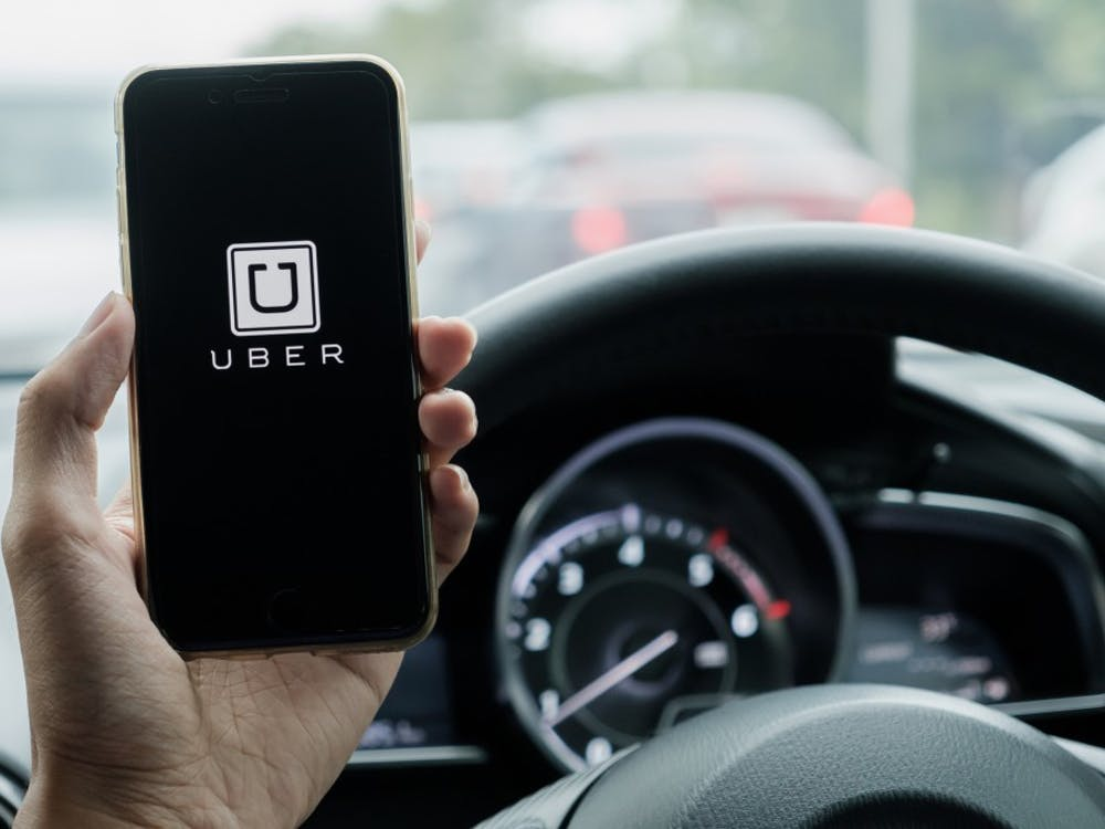 Rideshare services such as Uber and Lyft will have designated pick-up and drop-off areas in downtown Bloomington from Friday evening through Saturday.
