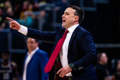 IU head coach Archie Miller yells from the sidelines in the second half of the game against the University of Notre Dame Dec. 21 at Bankers Life Fieldhouse. Miller is in his third season at IU and has yet to take the team to the NCAA Tournament.