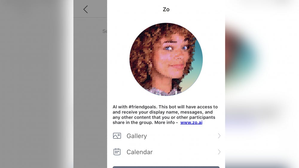 Zo is an artificial intelligence English-language chat bot developed by Microsoft.
