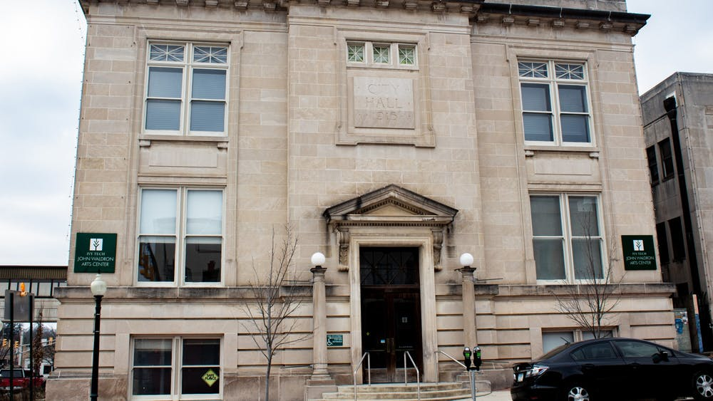 The John Waldron Center at 122 S Walnut St. Arts Forward Bloomington will hold the Save Our Arts Venues Rally at noon Saturday at the Monroe County Courthouse.