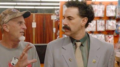 "Sacha Baron Cohen stars as Borat Sagdiyev in ""Borat Subsequent Moviefilm."""