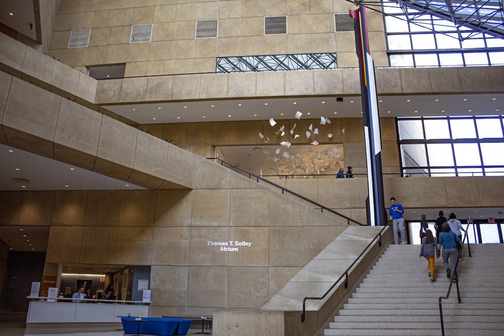 <p>The inside of the Eskenazi Museum of Art is pictured. A two-hour yoga and personal well-being workshop will take place from 9 a.m. to 11 a.m. Nov. 14 via Zoom.  </p>