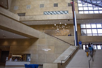 The inside of the Eskenazi Museum of Art is pictured. A two-hour yoga and personal well-being workshop will take place from 9 a.m. to 11 a.m. Nov. 14 via Zoom.