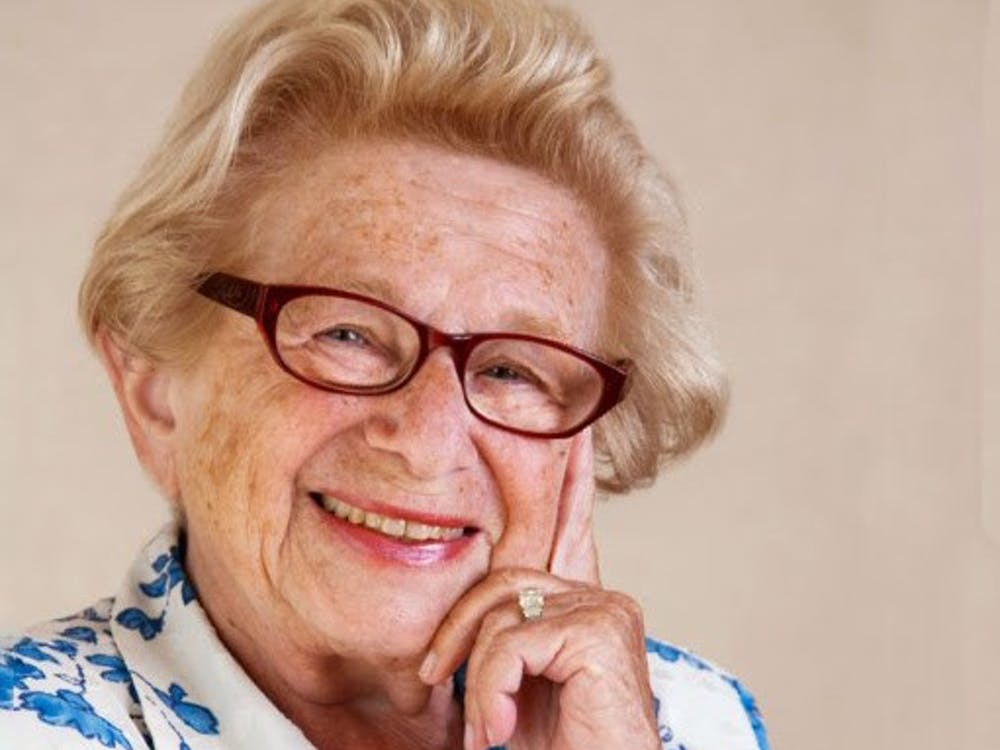 Dr. Ruth Westheimer will appear at the Buskirk-Chumley Theater Aug. 14 as part of the Bloomington Sex Salon speaker series. She will discuss her life spent as a sex educator with Debby Herbenick, founder of the series.