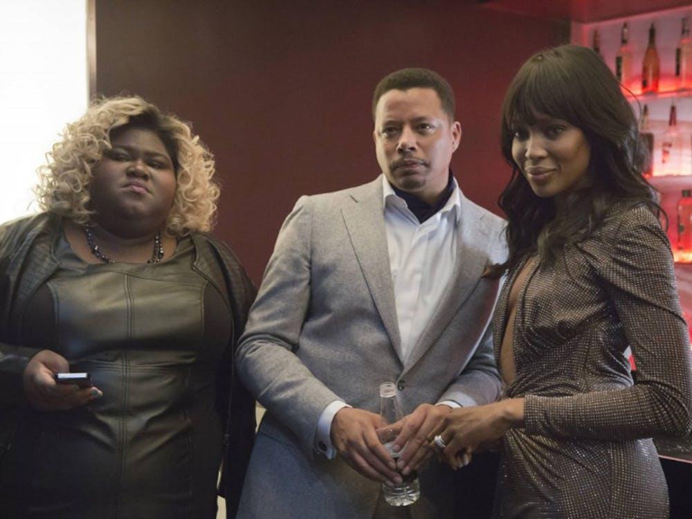 """Gabourey Sidibe, left, plays Becky on """"Empire."""" (Fox)"""
