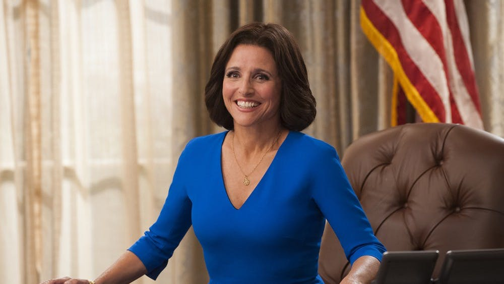 """Julia Louis-Dreyfuss returns with a sixth season of her Emmy-winning comedy """"Veep"""" in April."""