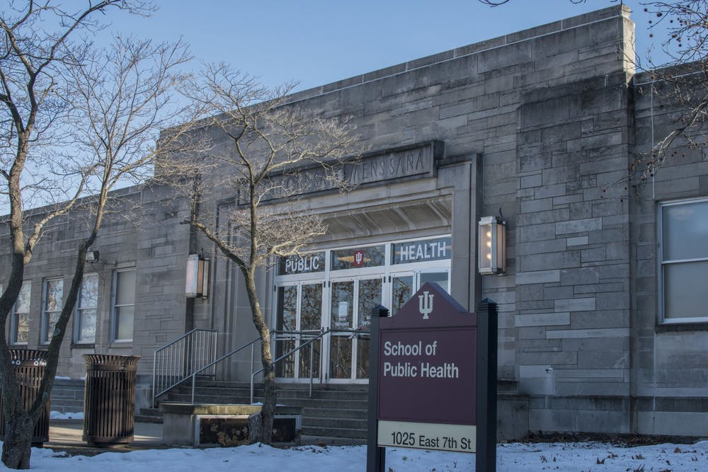 <p>The IU School of Public Health is located at 1025 E. Third St. Monroe County residents can be trained in mental health first aid and recognizing signs and symptoms of mental health issues this summer for free through Prevention Insights.</p>