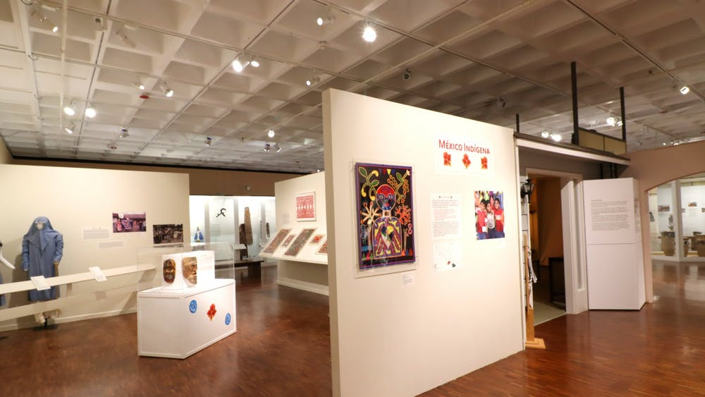 The interior of Mathers Museum of World Cultures is seen Dec. 8. Since 2004, the Christmas celebration has been organized by the Latino Graduate Student Association and La Casa Latino Cultural Center.