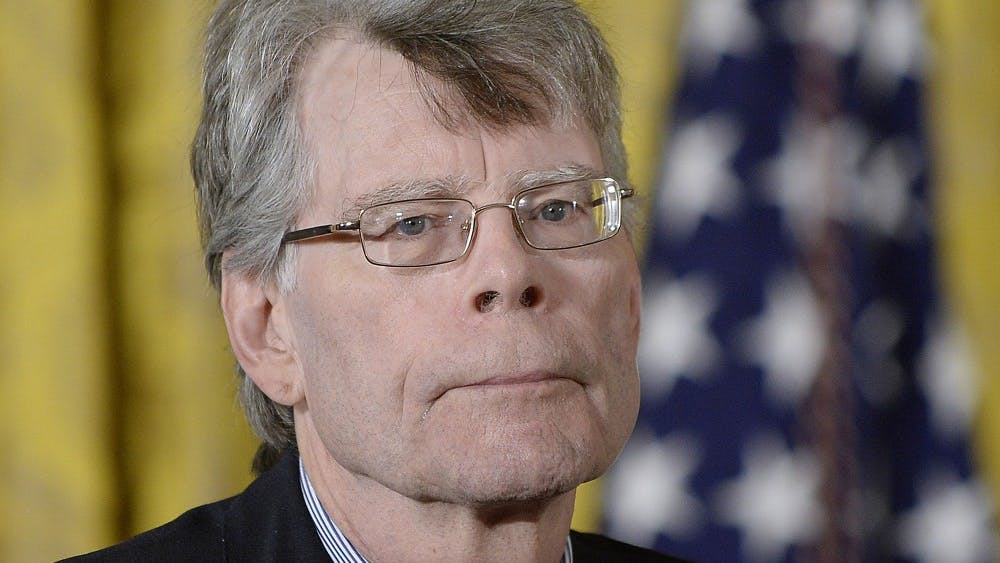 "Stephen King's newest novel, ""Elevation,"" is 146 pages. The book was released Oct. 30."