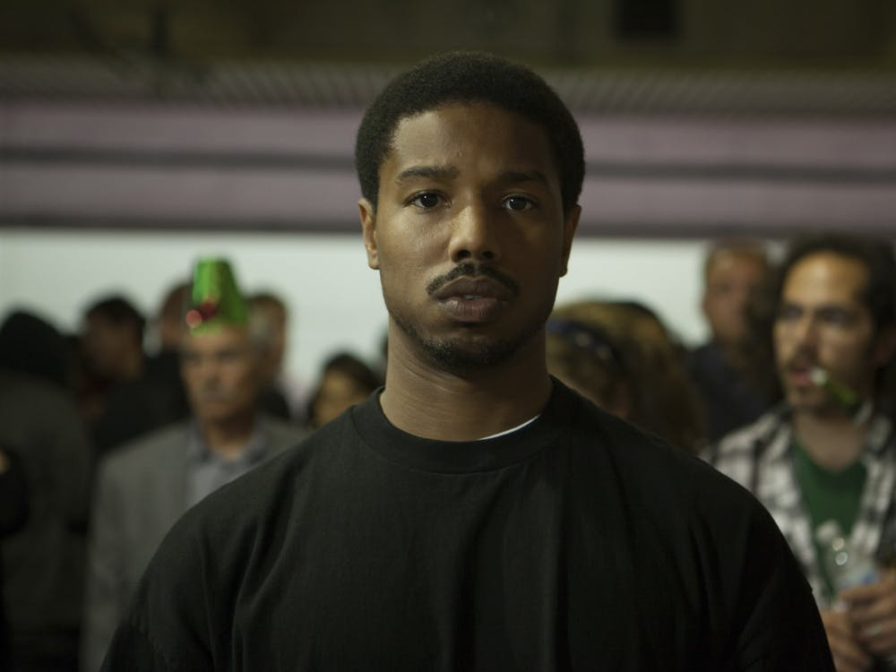 """A movie still from """"Fruitvale Station"""" is pictured. The 2013 film is based on the story of the death of Oscar Grant III."""