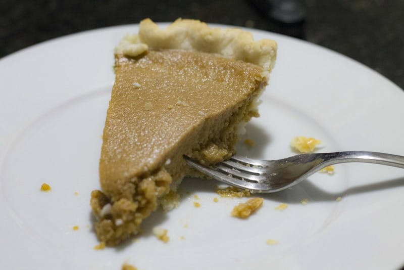 Pumpkin pie is a well-known dessert, typically eaten in the fall.