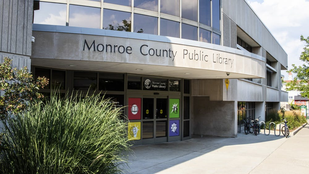 The Monroe County Public Library is located at 303 E. Kirkwood Ave.