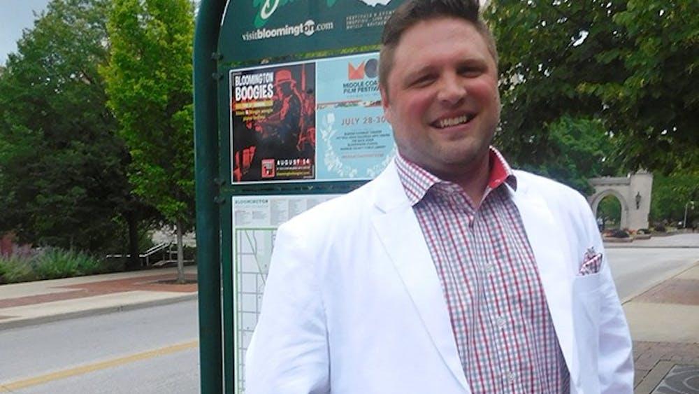 A linen summer suit dresses up a warm summer day.