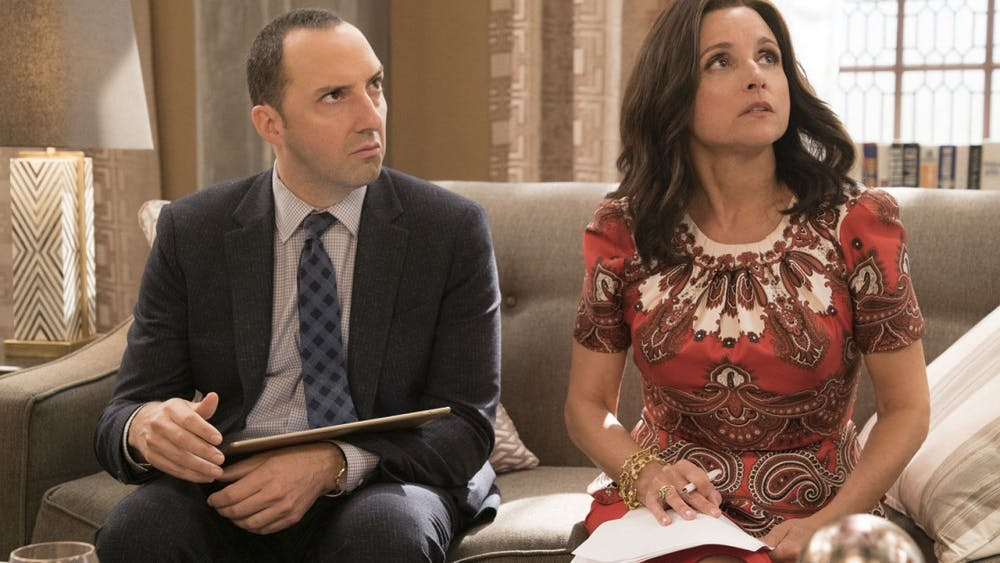"""Tony Hale and Julia Louis-Dreyfus return to HBO this week for the sixth season of """"Veep."""""""
