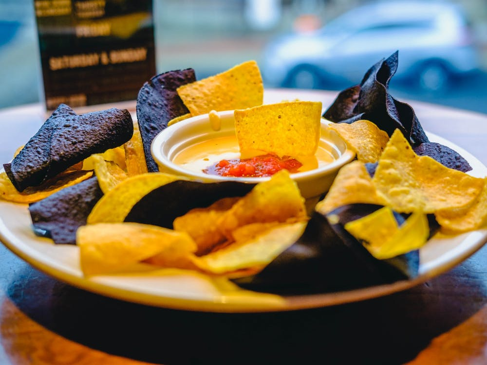 Chips and queso is one of the appetizers from Lennie's. Lennie's moved to Kirkwood Ave. from 10th Street.