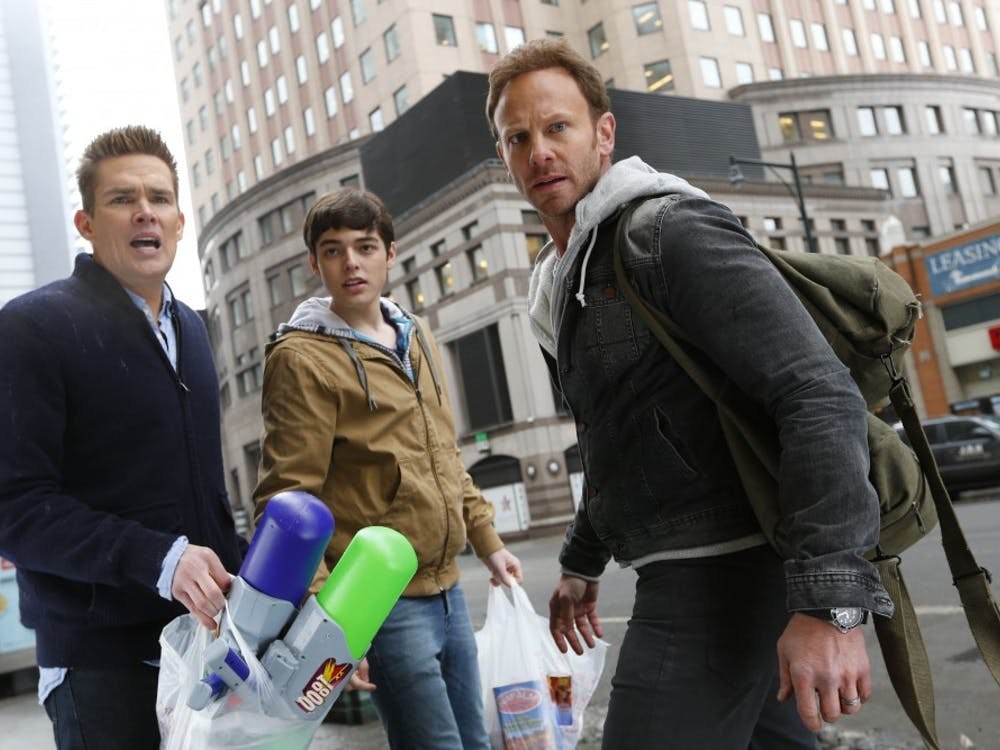 SHARKNADO 2: The Second One -- Pictured: -- (Photo by: Will Hart/Syfy)