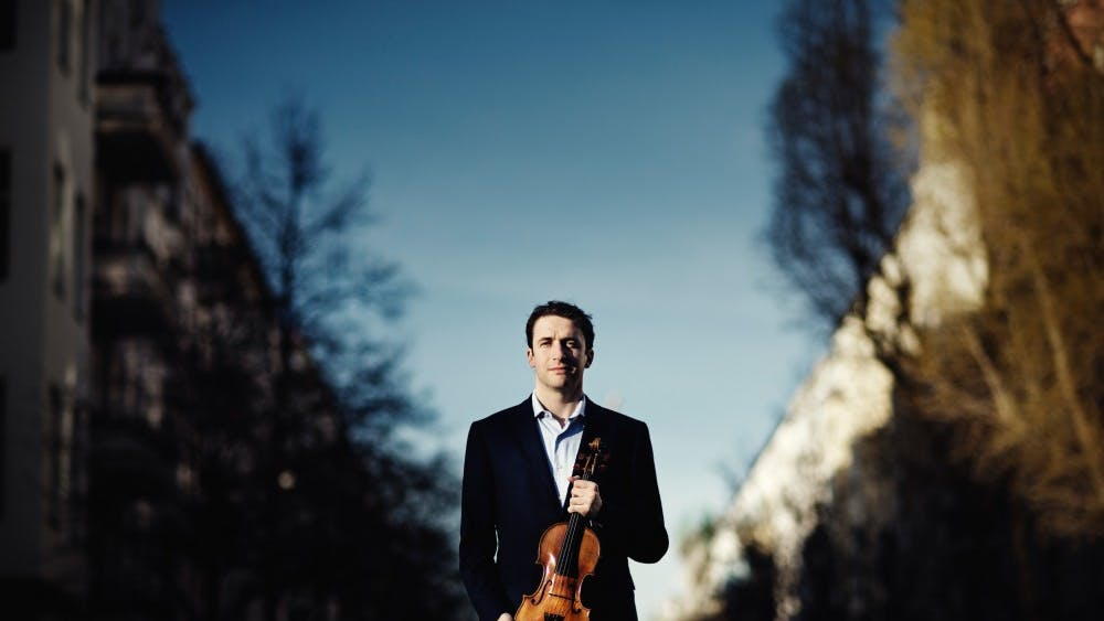 "Berlin Philharmonic Orchestra's concertmaster, Noah Bendix-Balgley, attended IU as a Wells Scholar and graduated from the Jacobs School of Music in 2007. He will be at IU until Feb. 14 to give masterclasses, speak at a luncheon, and perform his violin concerto ""Fidl-Fantazye"" with the IU Philharmonic Orchestra at 8 p.m. Feb. 7 in the Musical Arts Center.."