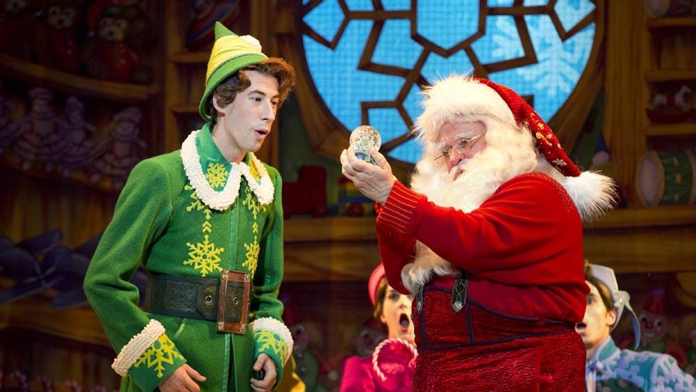 """""""Elf the Musical"""" will open at 7:30 p.m. Nov. 13 in the IU Auditorium."""