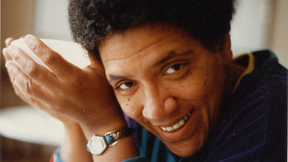 """Feminist and civil rights activist Audre Lorde poses for a headshot. Lorde, who inspired the short story """"Lord,"""" was born Feb. 18 in 1934."""