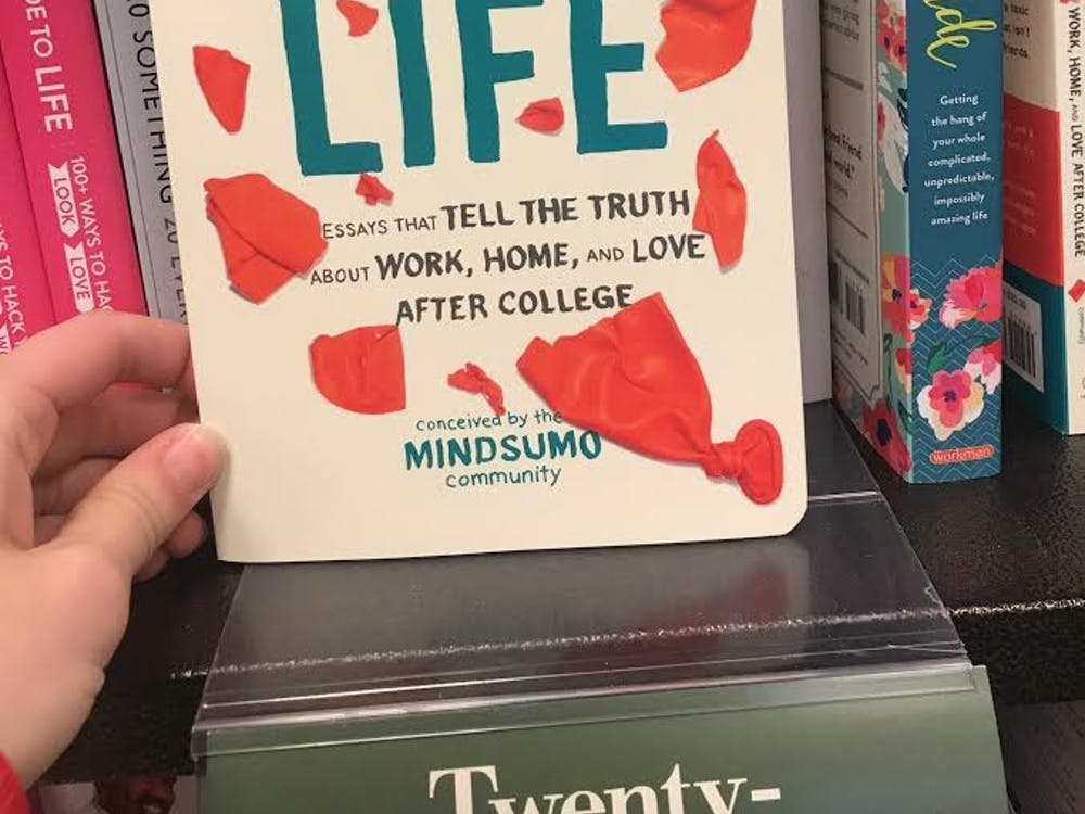 """""""Freshman Year of Life"""" by MindSumo was originally published Apr. 11, 2017. The book features """"essays that tell the truth about work, home and love after college""""."""