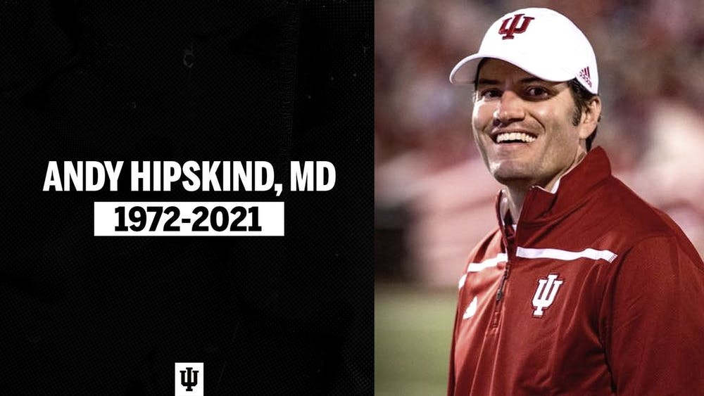 <p>Andy Hipskind was the Chief Medical Officer for IU Athletics and the team physician for Indiana football. Dr. Andy Hipskind died of cancer Saturday at the age of 48.</p>