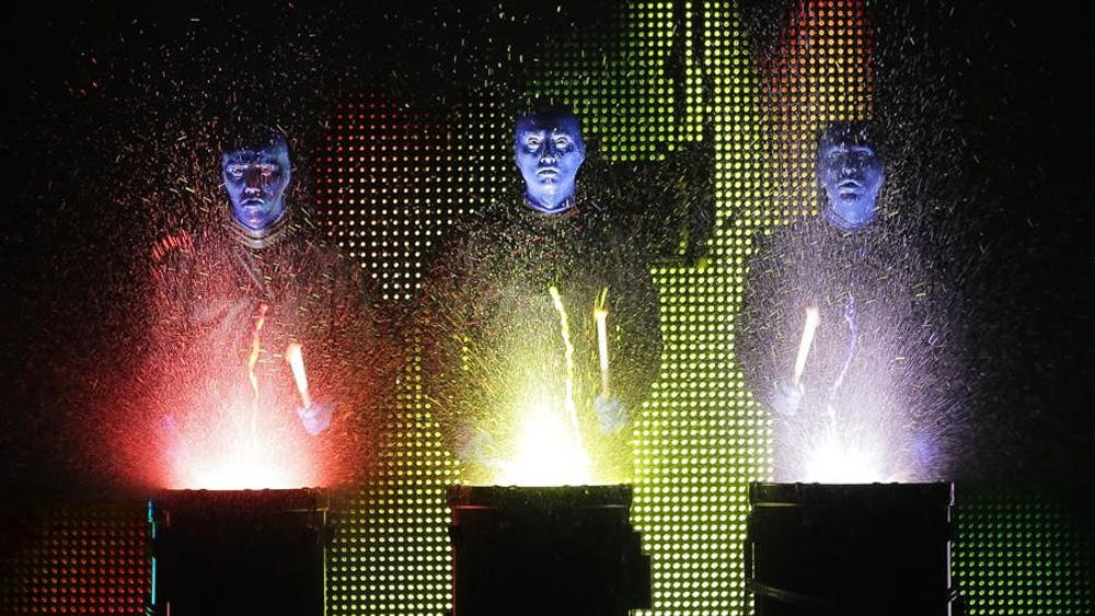 Blue Man Group will open the IU Auditorium's 2013-14 season with performances Saturday at 8 p.m. and Sunday at 2 p.m.