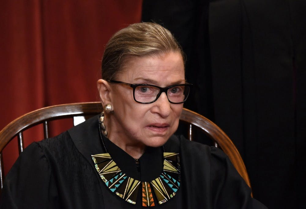 <p>Supreme Court Justice Ruth Bader Ginsburg died Friday at the age of 87.</p>