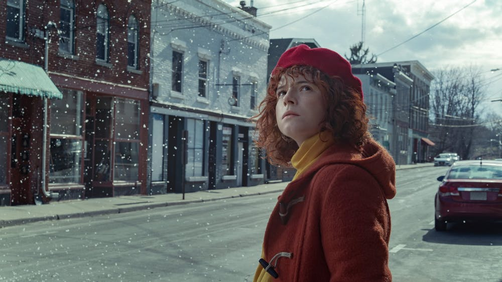 """Jessie Buckley plays the role of Lucy in the film """"I'm Thinking of Ending Things."""""""