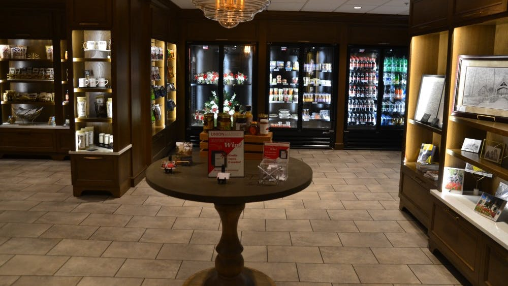 The Union Market is located inside the Indiana Memorial Union. The market opened Oct. 10.