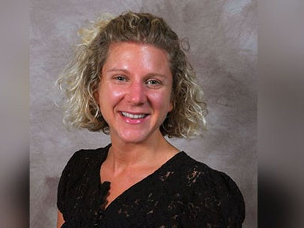IU lecturer Erin Cooperman is pictured. Cooperman took the oath of office to become an MCCSC Board member at the MCCSC Board of Trustees meeting Tuesday night.