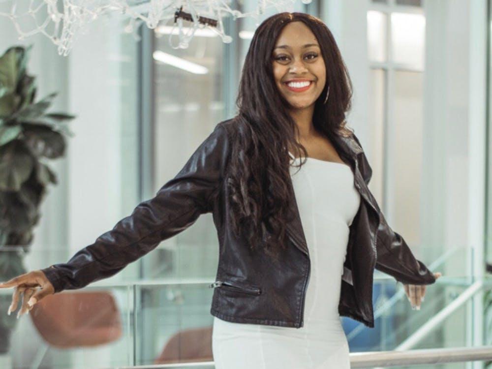 Senior Ariyonna Cousins is the president of IU's Black Student Union. Cousins said the main initiative of the Black Student Union this year is to focus on mental health in the Black community.