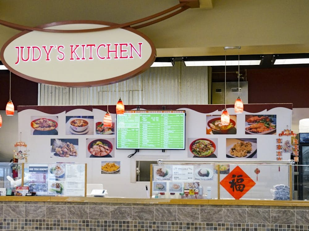 Judy's Kitchen, located inside College Mall, offers a wide variety of traditional and authentic Chinese foods. Some of the menu items include roast duck with rice, spicy pig ear and Tainan noodle soup.