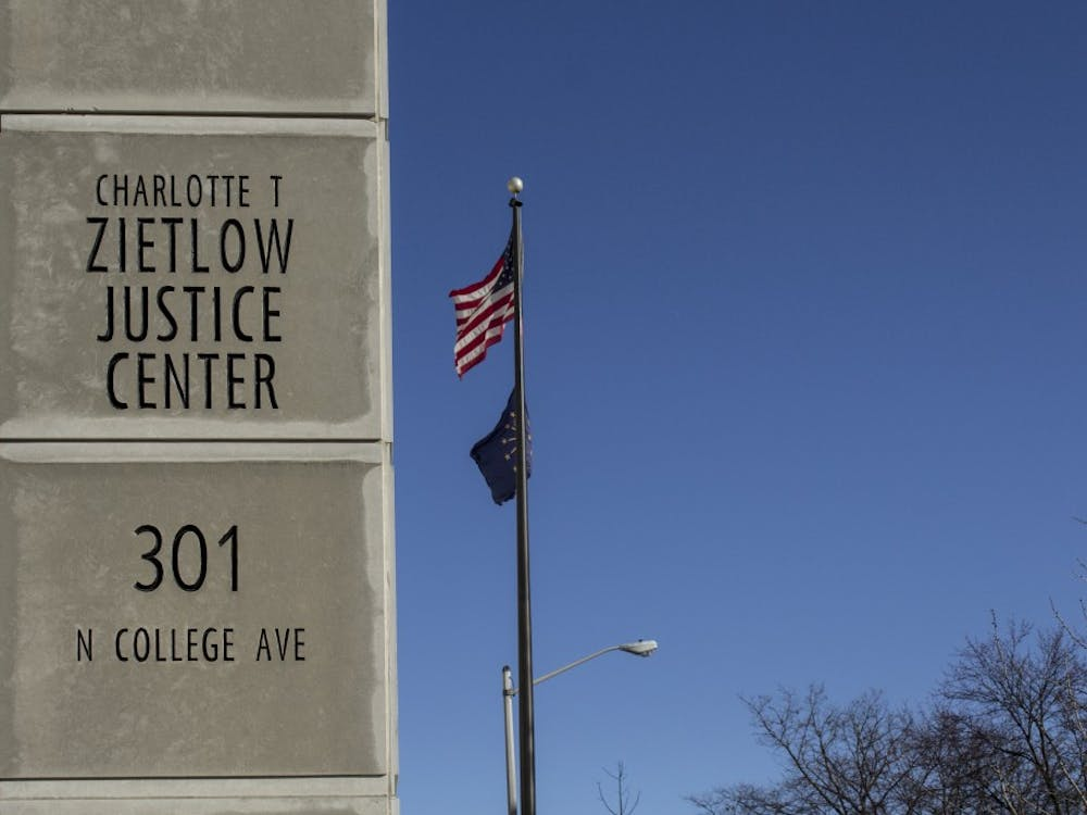 The Monroe County Justice Building, also called Zietlow Justice Center, is located at 301 N. College Ave.