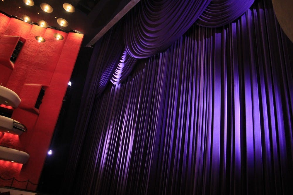 <p>The Musical Arts Center curtains have light shined on them before a rehearsal. &quot;Writing about the arts has allowed me to understand people's passions on a deeper level. The arts – whether it be music, movies, books or another medium –are a portal into someone's personal life,&quot; wrote columnist Ellie Albin. </p>