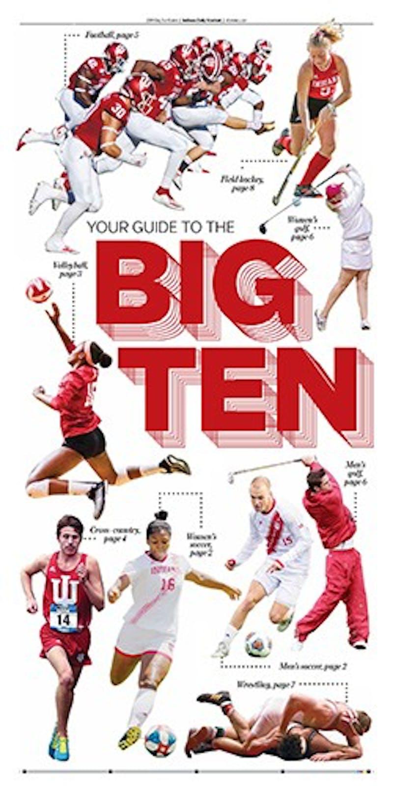 2019 Big Ten Sports Guide
