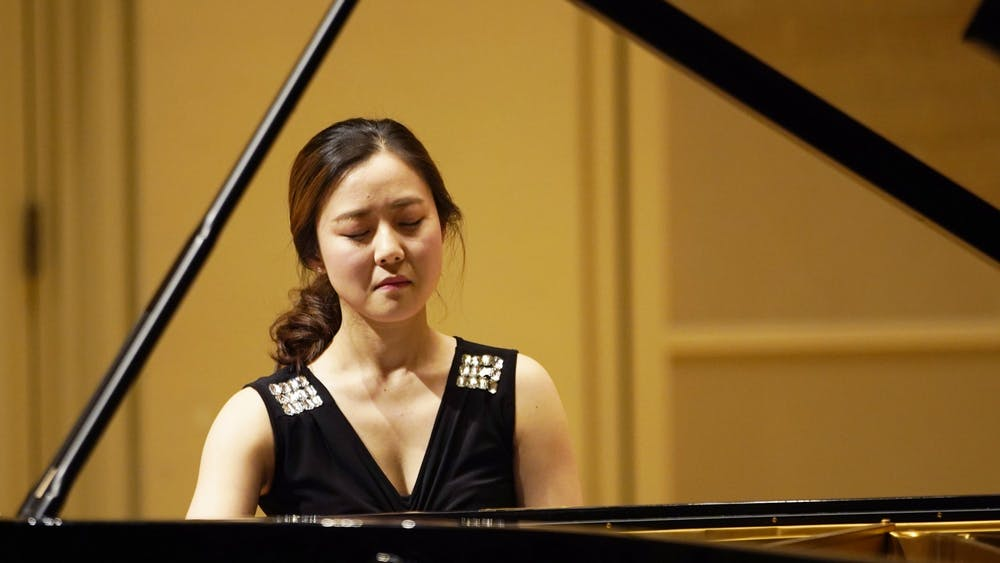 Boyoung Kim plays in the Beethoven Piano Sonata Festival on Jan. 29 in Auer Hall. The Beethoven Piano Sonatas series will be completed in 12 concerts.