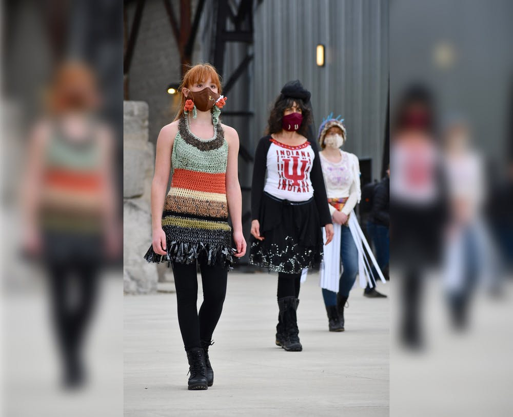 <p>Since 2010, the Bloomington Trashion Committee has planned annual runway shows.However, the 2020 show was canceled due to the COVID-19 pandemic.</p>