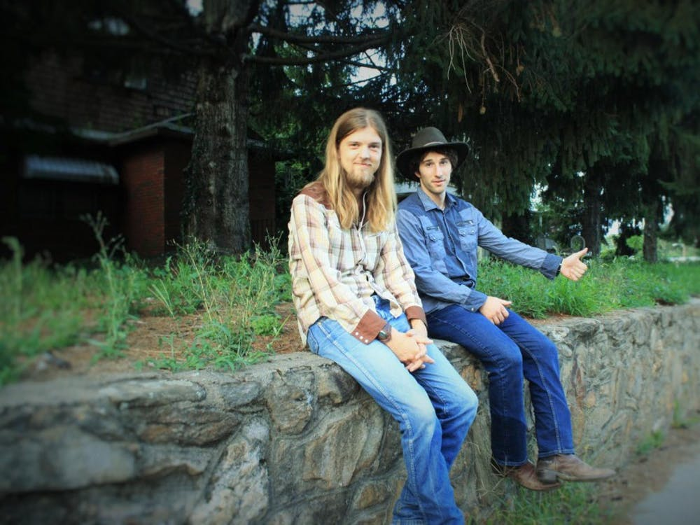 Tim McWilliams and Son the Bassman make up the Asheville, North Carolina, based duo Redleg Husky, which will play alongside local musician Cari Ray this Wednesday at Player's Pub.
