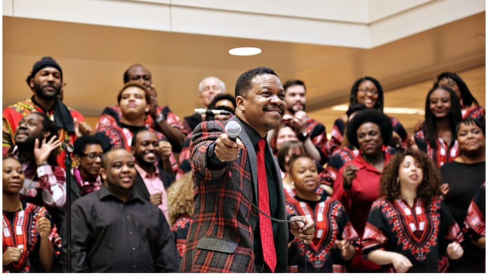 The African American Choral Ensemble will present a concert Wednesday in honor of Black History Month. The free concert gives the ensemble a chance to celebrate African American culture at the campus level.