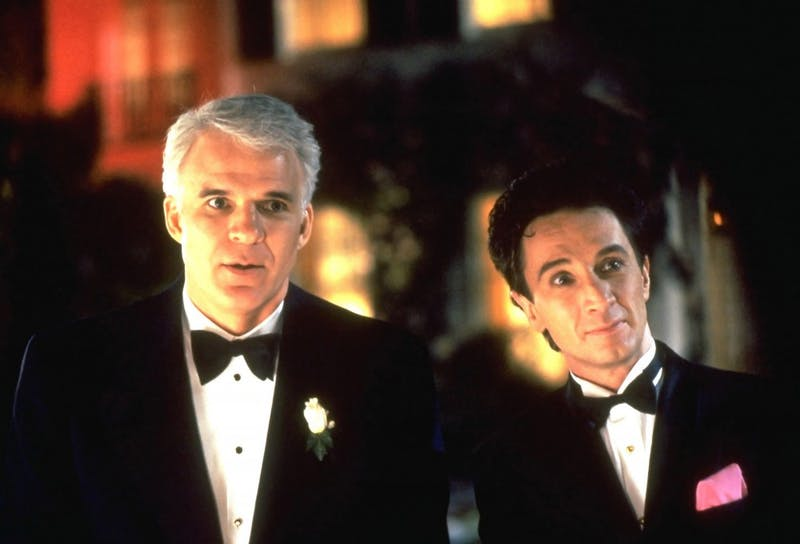 """Steve Martin and Martin Short appear in the 1991 film """"Father of the Bride."""" Martin and Short now have a Netflix special called, """"An Evening You Will Forget for the Rest of Your Life."""""""