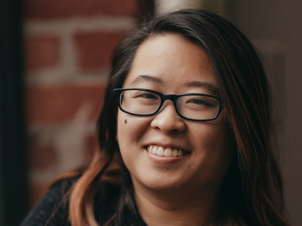 Abby Ang, 27, is an IU graduate student who founded an organization called No Space for Hate to combat a surge in local white supremacy in 2019.