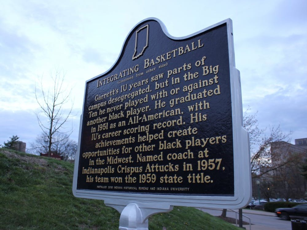 A state historical marker honoring Bill Garrett was placed on campus in 2017.